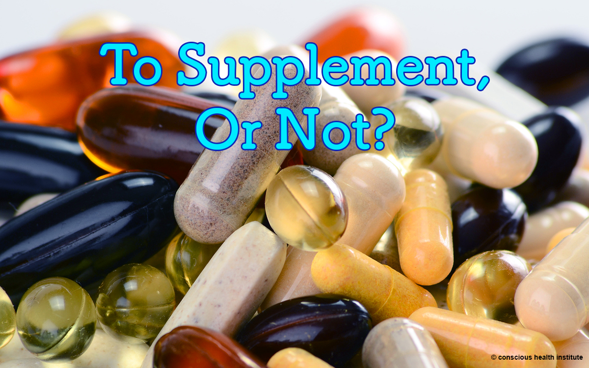 To Supplement, or not to Supplement?